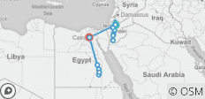 Jordan & Egypt by Nile Cruise - 16 destinations