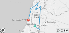 Tales of Israel 2019-20 (Jerusalem , Nazareth via Dead Sea and Sea of Galilee , Tel Aviv via Acre and Haifa  , Tel Aviv ) - 7 destinations