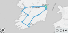 Great tour of Ireland - 12 destinations