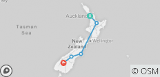 New Zealand Express - 5 destinations