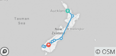 Neuseeland Express — Plus - 10 Destinationen
