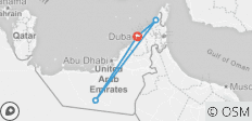 United Arab Emirates Expedition - 4 destinations