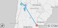 Cycle Chile & Argentina: Atacama to Salta - 13 destinations