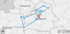 Best of Belarus - 9 destinations