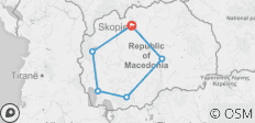 """Golden"" Macedonia - 6 destinations"