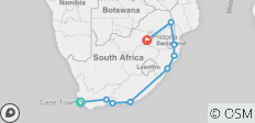 South Africa Discovery 17 Days - 9 destinations