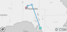 "5 Day Package ""Adelaide to Ayers Rock (Uluru)\"" - 5 destinations"