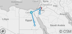 Jewels of Egypt & Jordan 2019/2020 23 Days - 9 destinations