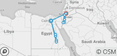 The Essence of Egypt & Jordan 2020 (Start Cairo, End Amman, 22 Days) - 15 destinations