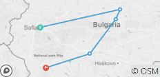 Self drive tour - the best of Bulgaria - 5 destinations