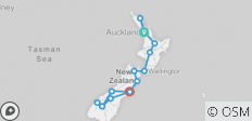Grand Kiwi (Ex Auckland) 2019-20 - 15 destinations