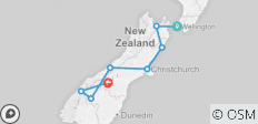 Pure Adrenalin (Ex Wellington) 2019-20 - 8 destinations