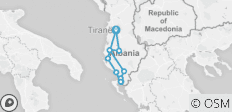 Albania in 4 days (South) - 10 destinations