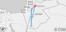 Dana to Petra Trek - Hiking the Jordan Trail - 7 destinations