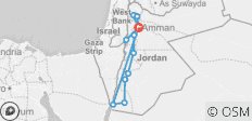 Experience Jordan Tour - 13 destinations