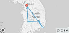 Korea Express - 6 destinations