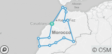 20 Night Grand Tour Of Morocco - 14 destinations