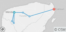 7 Days Discovering Yucatan Tour: Merida, Izamal and Cancún - 7 destinations