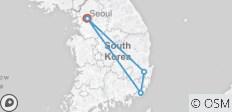 Korea Cultural Experience 8 Days_ Airport Service included - 8 destinations
