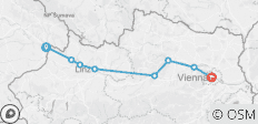 Passau to Vienna Self-Guided Cycling - 8 destinations