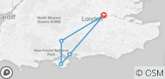 3-Day Isle of Wight and the Southern Coast Small-Group Tour from London - 5 destinations