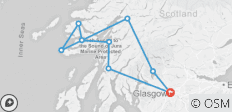 3-day Isle of Mull and Iona Small-Group Tour from Glasgow - 9 destinations