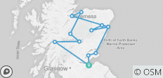 4-day Scottish Castles Experience Small-Group Tour from Edinburgh - 13 destinations