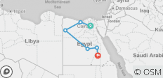 Cairo, Honeymoon Nile Cruise & Oasis Tour (from Cairo to Aswan) - 6 destinations