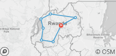 Discover Rwanda Tour 14 Days - 8 destinations