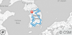 Round Korea - 9 Days (Airport Service Included) - 18 destinations
