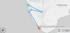 Kerala Sud India (Kerala South India) - 5 destinations