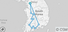 Western Korea 6 Days_ Airport Service included - 13 destinations