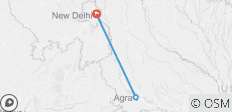 Delhi Agra Delhi 2 Nights 3 Days - 3 destinations