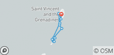 Cabin Charter Sailing Adventure in St Vincent & The Grenadines - 12 destinations
