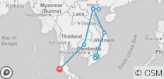 Spirits Of Vietnam - Cambodia-Thailand 16 Days - 9 destinations