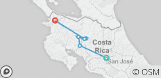 Costa Rica Adventure (9 Days) - 7 destinations