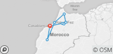 Wonders of Morocco - 8 destinations