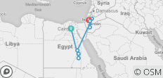 Epic Tour to Egypt, Jordan and Jerusalem 13 Days Historical & Religious Experience - 9 destinations