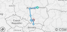 Pilgrimage to Poland Summer (from Warsaw to Krakow) - 10 destinations