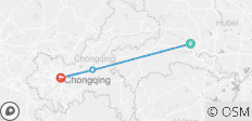 Yangtze River Cruise from Yichang to Chongqing Upstream in 5 Days 4 Nights - 3 destinations