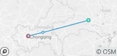 Yangtze River Cruise from Yichang to Chongqing Upstream in 5 Days 4 Nights - 4 destinations