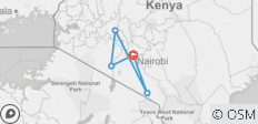 7 Days Karibu Kenya Holiday - 5 destinations