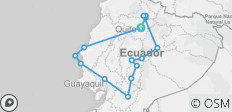 Discovering Ecuador by Bus - 15 destinations