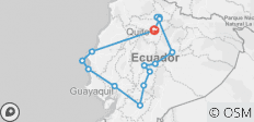Discovering Ecuador by Bus - 14 destinations