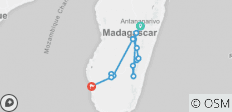 Bike and Hike Madagascar - 13 destinations