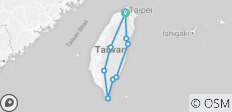 Magnificent Round Taiwan 8 Days_ Airport Service included - 10 destinations