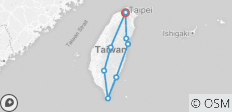 Magnificent Round Taiwan 8 Days_ Airport Service included - 9 destinations
