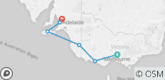 Great Ocean Road & Kangaroo Island - 6 destinations