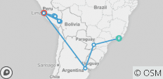 Ultimate South America (22 destinations) - 22 destinations