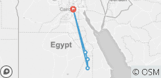 Egypt Express Tours-Discover The Pyramids,Cairo & Nile Cruise Flights Included - 5 destinations